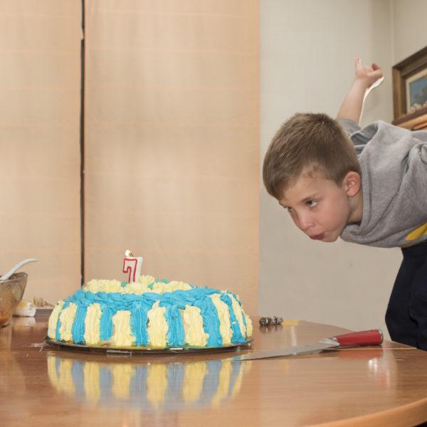 A little boy birthday