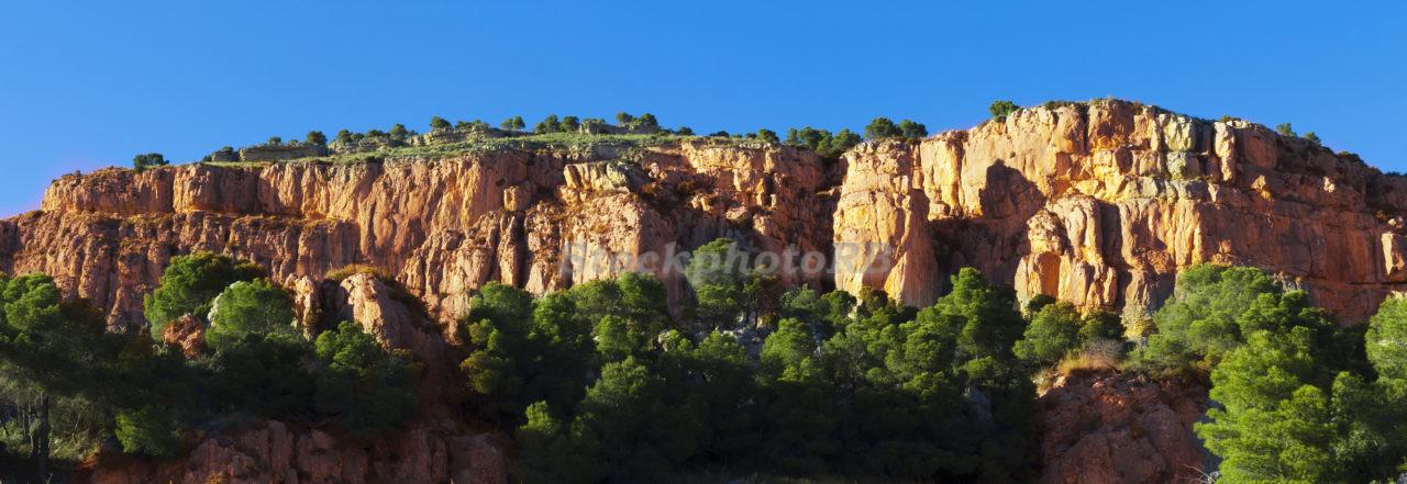 Rocks. Panorama
