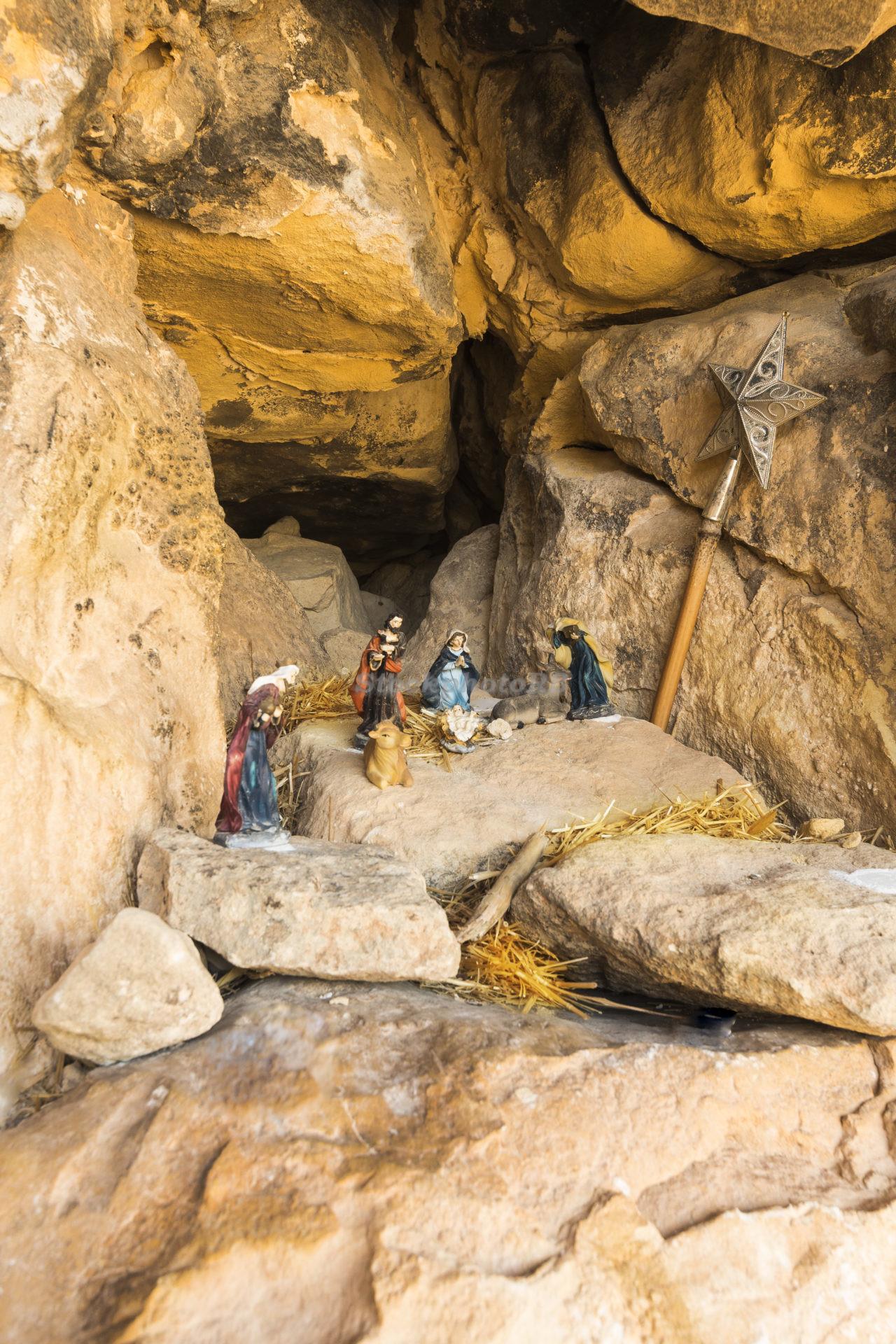 Scene of the birth of Jesus Christ-2