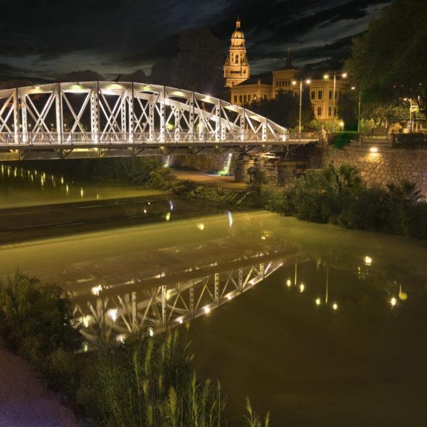 Bridge over the Segura river
