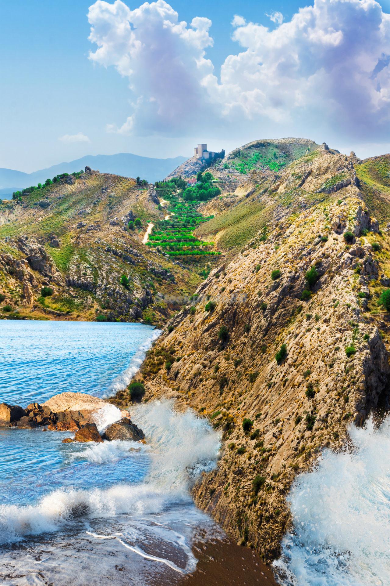 Castle on the shore
