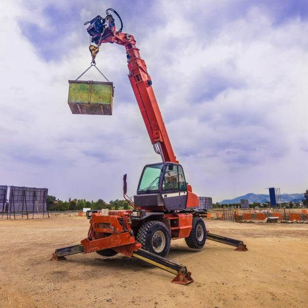 Mobile construction crane