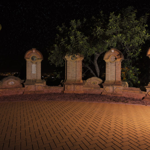Five old monuments