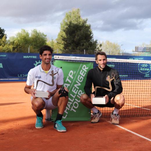 Guillermo Duran (ARG) y Thomaz Bellucci (BRA)
