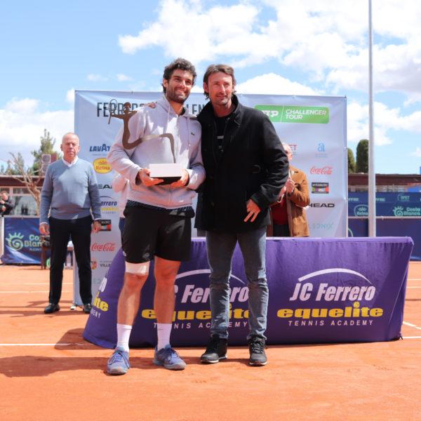 Pablo Andújar and Juán Carlos Ferrero