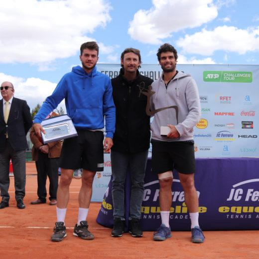 Pedro Martínez, Juán Carlos Ferrero and Pablo Andújar