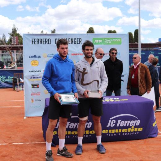 Pedro Martínez and Pablo Andújar