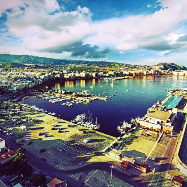 The port of Aguilas
