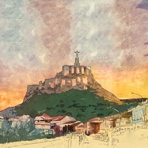 The sky of Monteagudo
