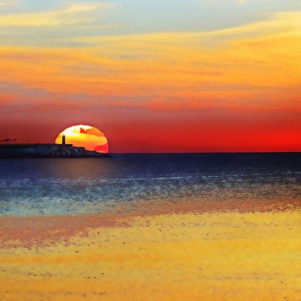 Sunrise over Torrevieja