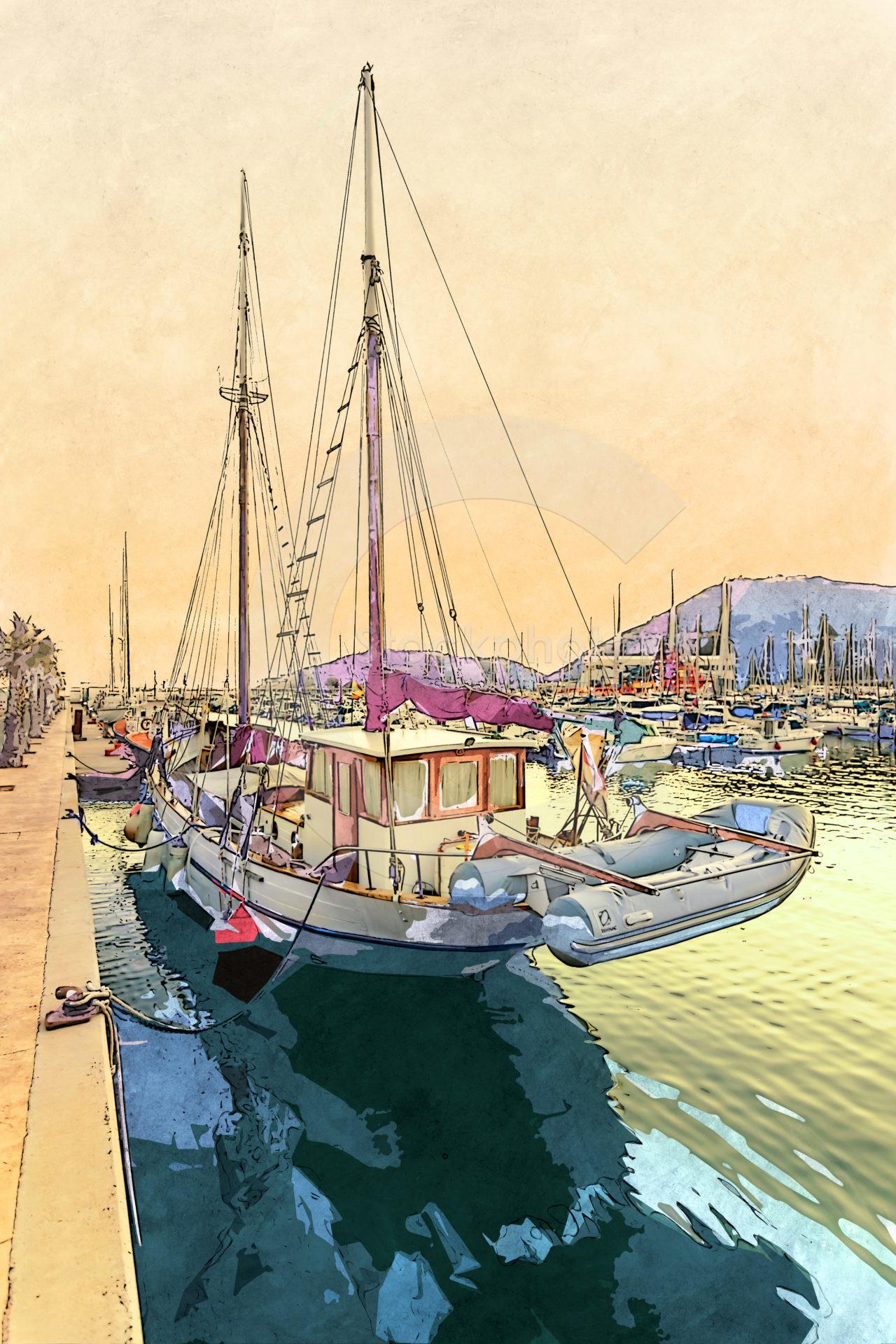 The port of Cartagena