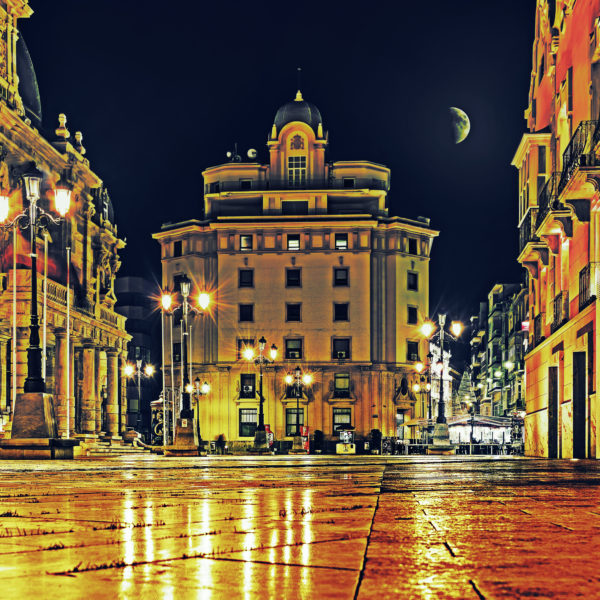 Town hall place of Cartagena, Spain
