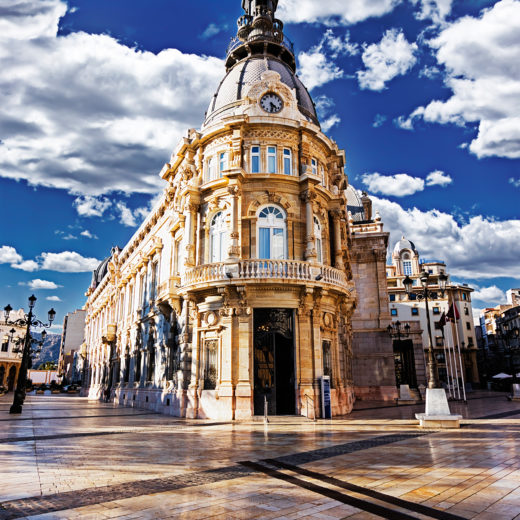 Town hall place of Cartagena