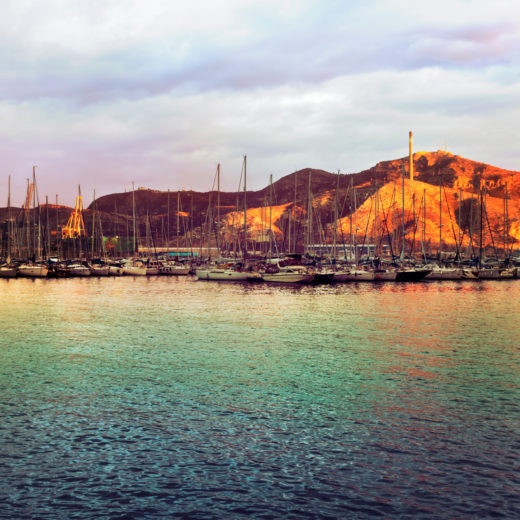 The port of Cartagena