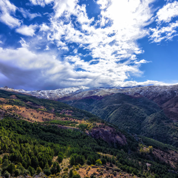 View from Sierra Nevada