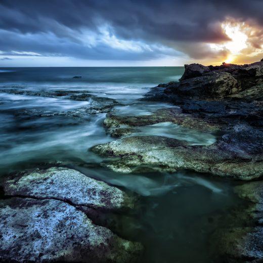 Dawn sea