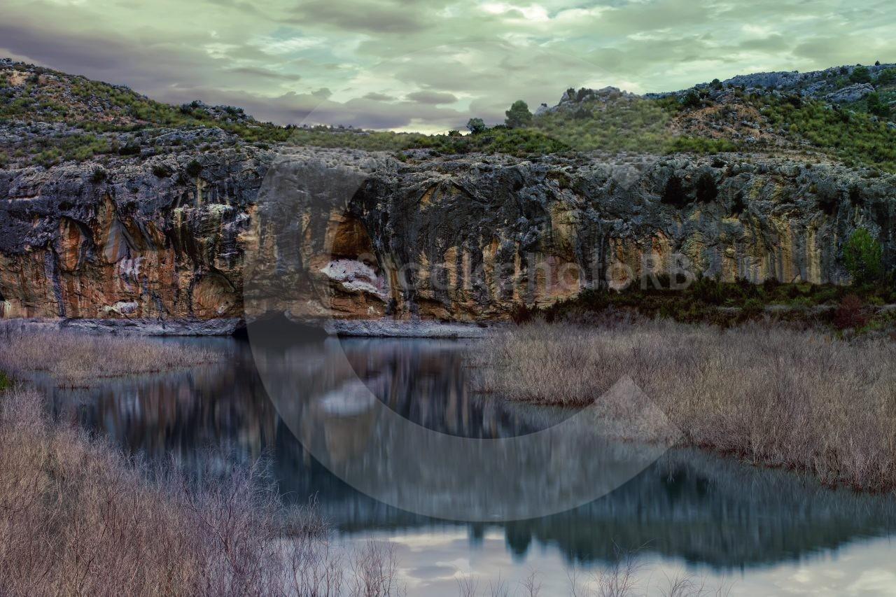View from lake La Sierva