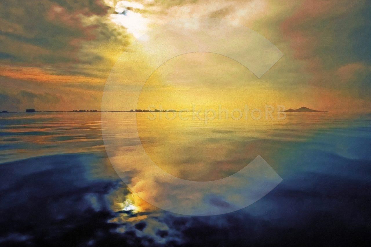 Sunrise over the Mar Menor
