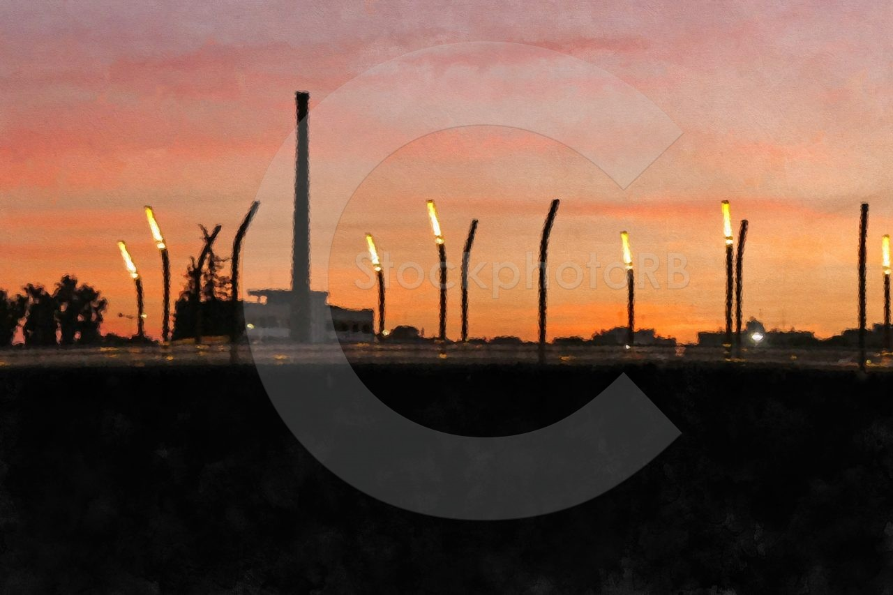 Sunset over Murcia