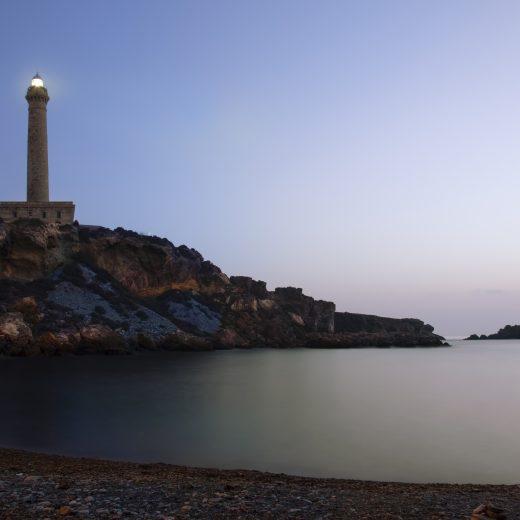 The lighthouse of Cabo de Palos