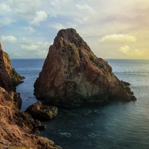 View from the lighthouse of Cabo de Gata